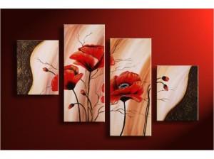 moderni-obrazy-kvety-vicedilne-obrazy-kvetiny 2