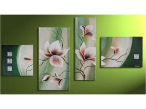 moderni-obrazy-kvety-vicedilne-obrazy-kvetiny 3
