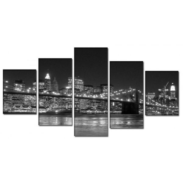 obrazy-mostu-ve-meste