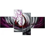 Vícedílné abstraktní obrazy na zeď