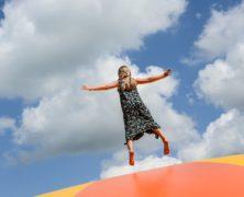 Trampolína 305 cm pro malé sportovce
