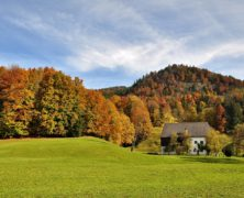Podzim na koloběžce